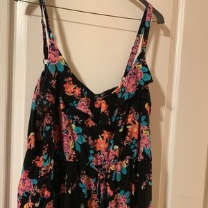 Torrid Floral Dress Size 3 USED WITH CARE